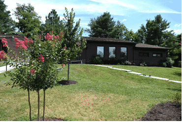 Outdoor landscape view of IAFF Recovery Center