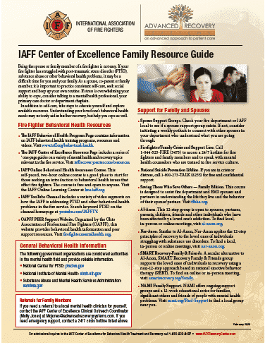 COE Family Resource guide 2020