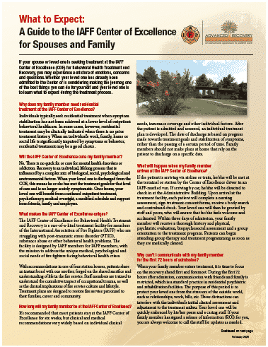 Spouse and Family FAQs guide 2020